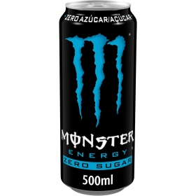Bebida energética Monster Absolutely Zero 50 cl.