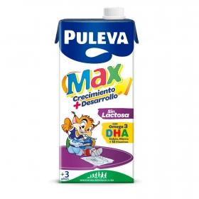 Bebida láctea crecimiento y desarrollo Puleva Max sin gluten y sin lactosa brik 1 l.