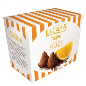 Trufas de naranja Lacasa 200 g.