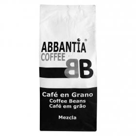 Café grano mezcla Abbantia 1 kg.