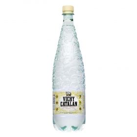 Agua mineral Vichy Catalán natural con gas 1,2 l.
