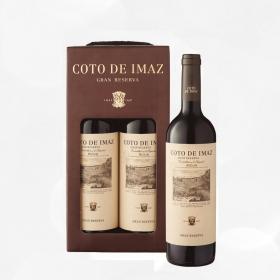 LOTE 94: 2 botellas D.O. Ca. Rioja Coto de Imaz tinto gran reserva 75 cl.