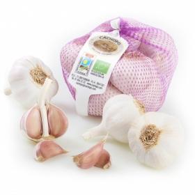 Ajo morado ecológico Carrefour granel 250 g