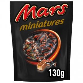 Mini barrita de chocolate y galleta con caramelo Mars 130 g.