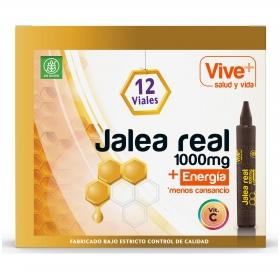 Complemento alimenticio Jalea real en viales Vive Plus 12 ud.