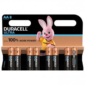 8 Pilas LR06 AA Duracell Ultra