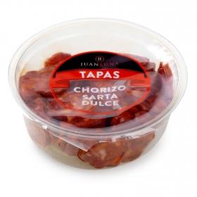 Chorizo sarta dulce loncheado Juan Luna bote snack 120 g