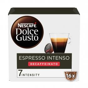 Cafe descafeinado suave en cápuslas Nescafé Dolce Gusto 16 cápsulas de