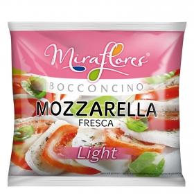Queso mozzarella  fresca light Miraflores 125 g.