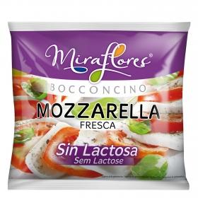 Queso mozzarella  fresca Miraflores sin lactosa 125 g.