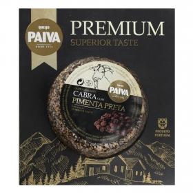 Queso curado de cabra con pimienta negra Paiva pieza de 190 g