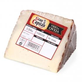 Queso de oveja viejo curado Gran Capitán cuña 1/8, 375 g aprox