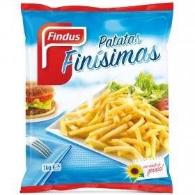 Patatas fritas finisimas Findus 1 kg.