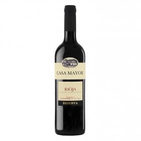 Vino D.O. Rioja tinto reserva Casa Mayor 75 cl.