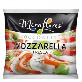 Queso mozzarella fresca clásica Miraflores 125 g.
