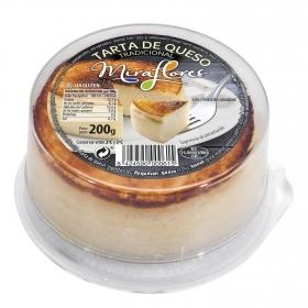 Tarta de queso Miraflores sin gluten 200 g.