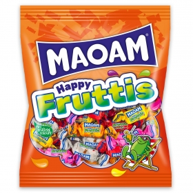 Caramelos masticables Happy Fruttis Maoam 175 g.