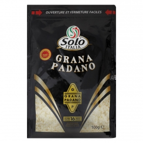 Queso rallado grana padano Solo Italia 100 g.