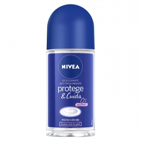 Desodorante roll-on Protege&Cuida Nivea 50 ml.