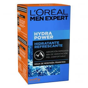 Gel hidratante refrescante Hydra Power L'Oréal Men Expert 50 ml.