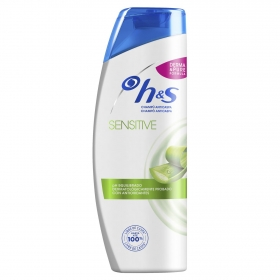 Champú anticaspa Sensitive con aloe vera H&S 360 ml.