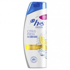 Champú anticaspa Citrus Fresh para cabello graso H&S 360 ml.