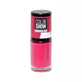 Laca de uñas Color Show nº 014 Show Time Pink Maybelline 1 ud.