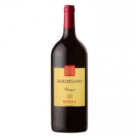 Vino D.O. Rioja tinto crianza Bardesano 1,5 l.
