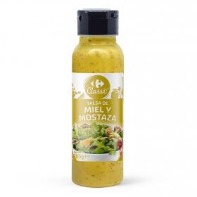 Salsa miel y mostaza Carrefour envase 300 g.