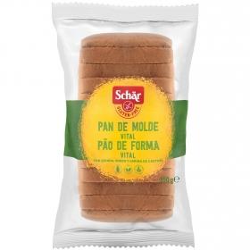 Pan de cereales vital Schär sin gluten 350 g.