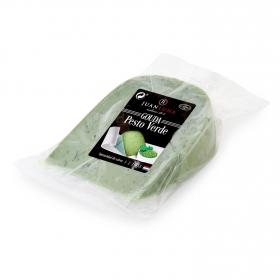 Queso gouda al pesto verde Juan Luna 255 g aprox