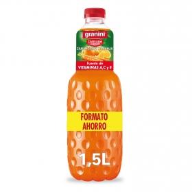 Zumo de zanahoria y naranja Granini botella 1,5 l.
