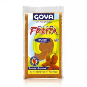 Pulpa de frutas sabor a tamarindo Goya 250 g.