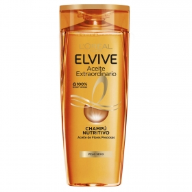 Champú Aceite Extraordinario para cabello normal a seco L'Oréal-Elvive 370 ml.