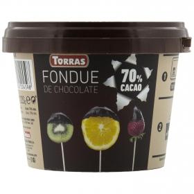 Fondue de chocolate 72% Torras 220 g.