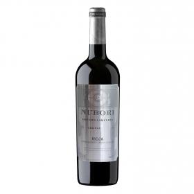 Vino D.O. Rioja tinto crianza edición limitada Nubori 75 cl.