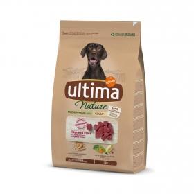 Pienso de cordero para perro adulto Medium Maxi Ultima Nature 3 Kg.