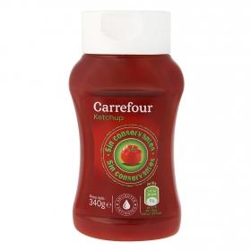 Kétchup Carrefour envase 340 g.