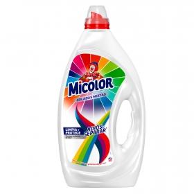 Detergente líquido adiós al separar Micolor 60 lavados.
