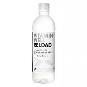 Bebida Isotónica Reload Vitamin Well botella 50 cl.