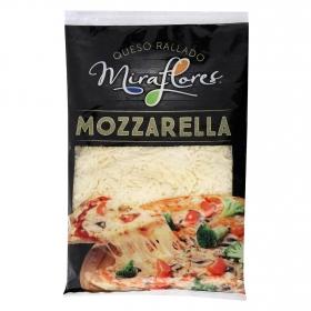 Queso rallado mozzarella Miraflores 250 g.