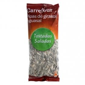 Pipas de girasol aguasal tostadas y saladas Carrefour 200 g.