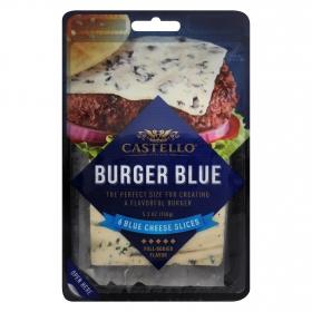 Queso azul para hamburguesas Castello 150 g.