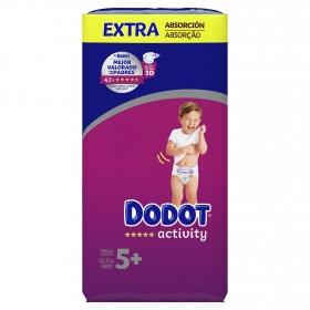 Pañales Dodot Activity extra absorción T5+ (12-17kg.) 48 ud.