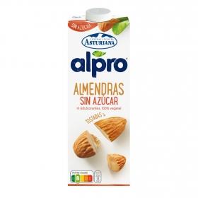 Bebida de almendras Alpro - Central Bebidara Asturiana sin azúcar brik 1 l.