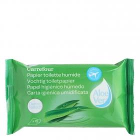 Papel higiénico húmedo Carrefour 15 ud.
