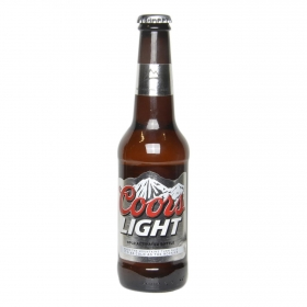 Cerveza Coors light botella 33 cl.