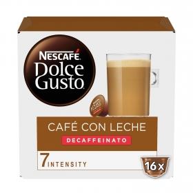 Cafe Con Leche Descafeinado Nescafe Dolce Gusto 16 Capsulas