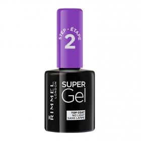 Laca uñas Top Coat Super Gel no light Rimmel 1 ud.