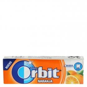 Chicles sabor naranja Orbit 10 ud.